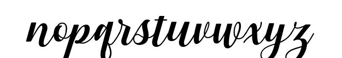 Gebrina Font LOWERCASE