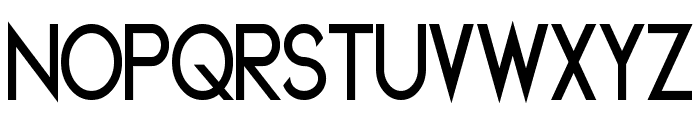 Geddes Narrow Bold Font UPPERCASE