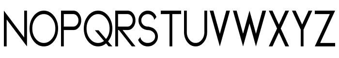 Geddes Narrow Font UPPERCASE