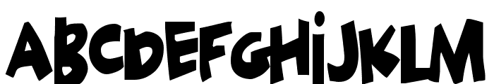 Geek a byte Font UPPERCASE