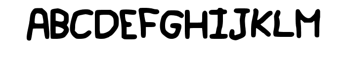 Geelyn_s_Handwriting Font UPPERCASE