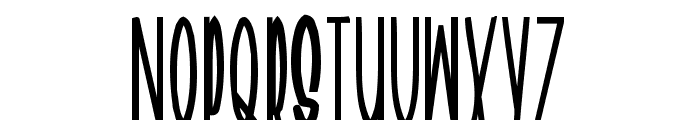 Geeves Font UPPERCASE