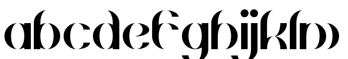 Gehenna Regular Font LOWERCASE