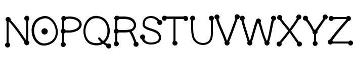 GelDotica Font UPPERCASE