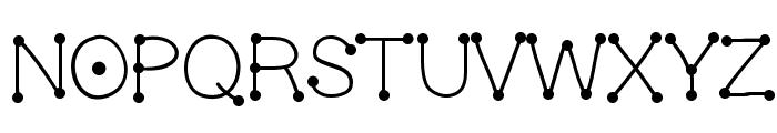 GelDoticaLight Font LOWERCASE
