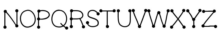 GelDoticaPlainLight Font UPPERCASE