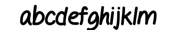 GelPen Font LOWERCASE