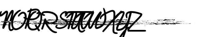 Gelatina Elemente Trash Font UPPERCASE