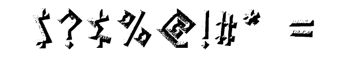 Gelio Kleftiko Font OTHER CHARS
