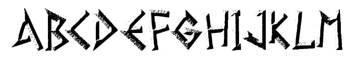 Gelio Kleftiko Font UPPERCASE
