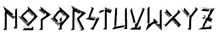 Gelio Kleftiko Font LOWERCASE