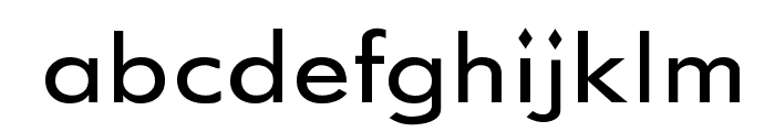 GemFont One Font LOWERCASE