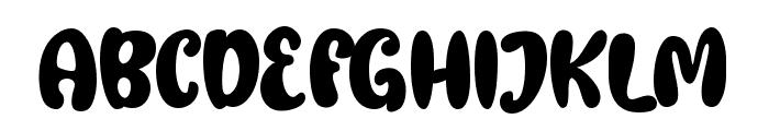 Gembool Font UPPERCASE