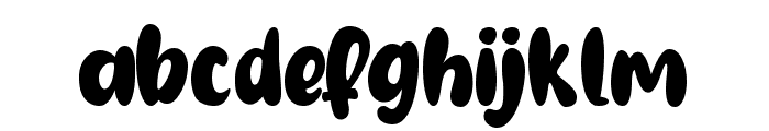 Gembool Font LOWERCASE
