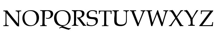 Gemerald Font UPPERCASE