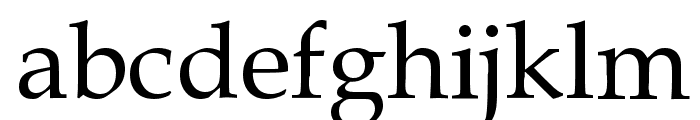 Gemerald Font LOWERCASE