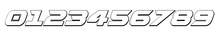 Gemina 2 3D Italic Font OTHER CHARS