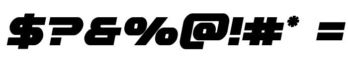 Gemina Semi-Italic Font OTHER CHARS