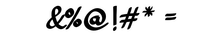 GendhistDemo-Regular Font OTHER CHARS