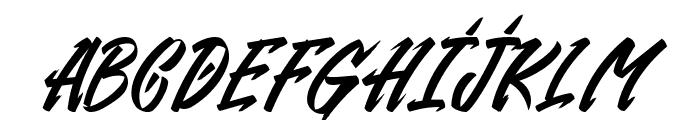 Gendry Regular Font UPPERCASE