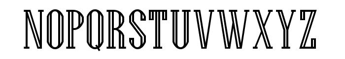 Generalissimo Regular Font UPPERCASE