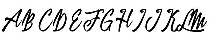 GenerationSeptember Font UPPERCASE