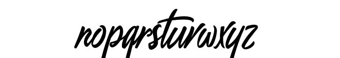 GenerationSeptember Font LOWERCASE