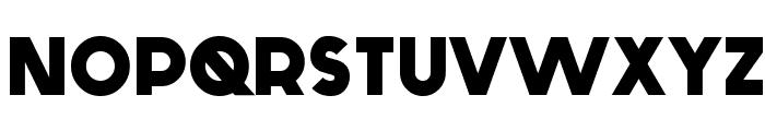 Generica Bold Font UPPERCASE