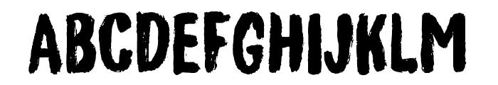 GenerousDEMO Font LOWERCASE