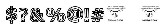 Genesee St Regular Font OTHER CHARS