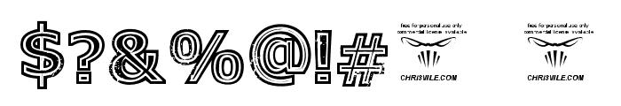 GeneseeSt-Black Font OTHER CHARS
