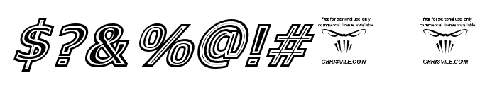 GeneseeSt-Italic Font OTHER CHARS