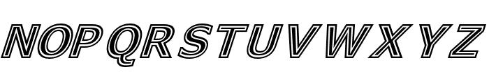 GeneseeSt-Italic Font UPPERCASE