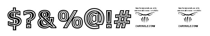 GeneseeSt-Regular Font OTHER CHARS