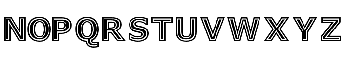 GeneseeSt-Regular Font LOWERCASE