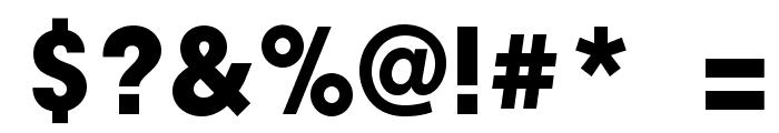 GeniusMarksBold Font OTHER CHARS