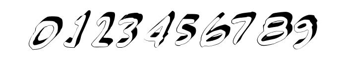 GennaroPalmieriCursive_3D Medium Font OTHER CHARS