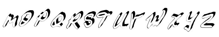 GennaroPalmieriCursive_3D Medium Font UPPERCASE