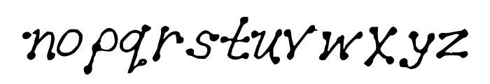 GennaroPalmieriDots2012 Font LOWERCASE