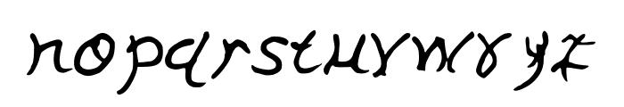 GennaroPalmieriHectic Font LOWERCASE