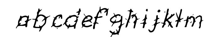 GennaroPalmieriThorny Font LOWERCASE