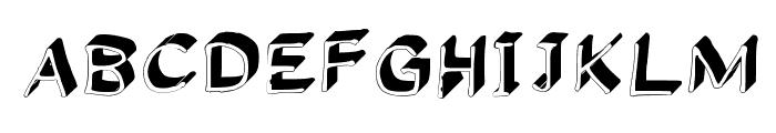 Gennaro_Palmieri_Formal_3D Medium Font UPPERCASE