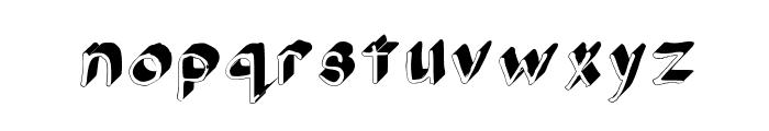 Gennaro_Palmieri_Formal_3D Medium Font LOWERCASE