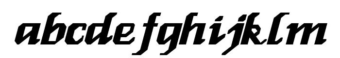 Genoa Italic Font LOWERCASE