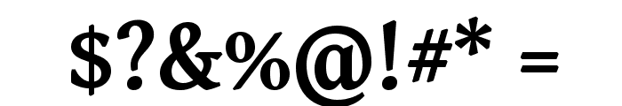 Gentium Basic Bold Font OTHER CHARS