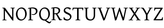 Gentium Basic Font UPPERCASE