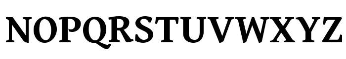Gentium Book Basic Bold Font UPPERCASE