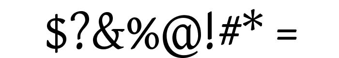 Gentium Plus Font OTHER CHARS