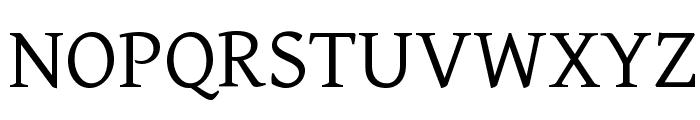 Gentium Font UPPERCASE