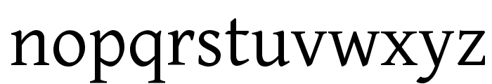 Gentium Font LOWERCASE